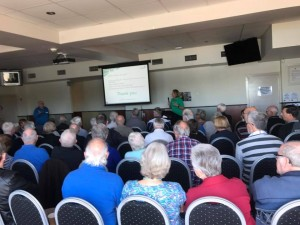 Presenting to 80 people at ther Prostate Cancer Support group