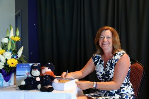 Book launch signing