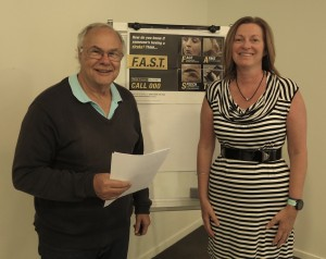 Rotary Club of Caloundra - With Chairman for the day