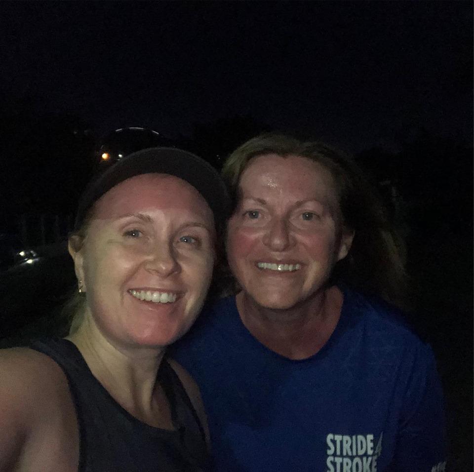 Me and Lisa 10 k run photo